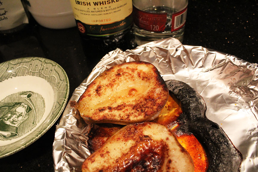 Broiled Pears