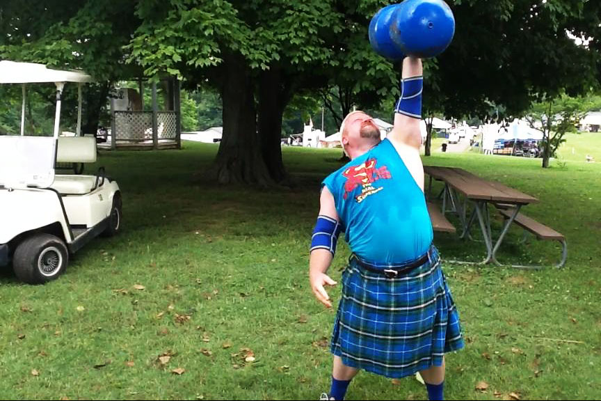 Clint Poore Highland Games Glasgow Kentucky