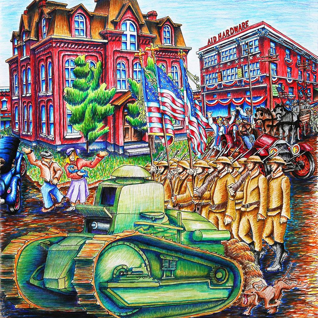 Armistice Day in West Plains- April 21, 1919