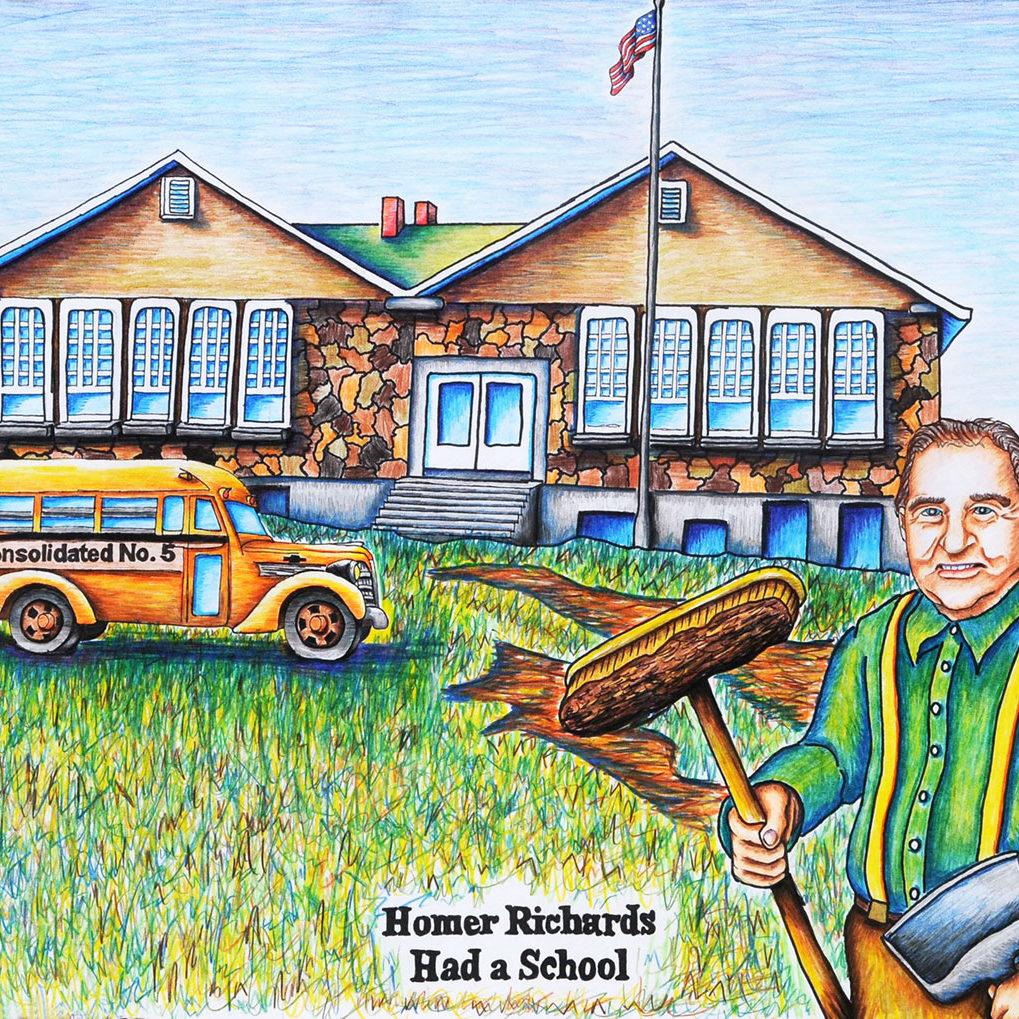 Richards R-5 Elementary School, 1957