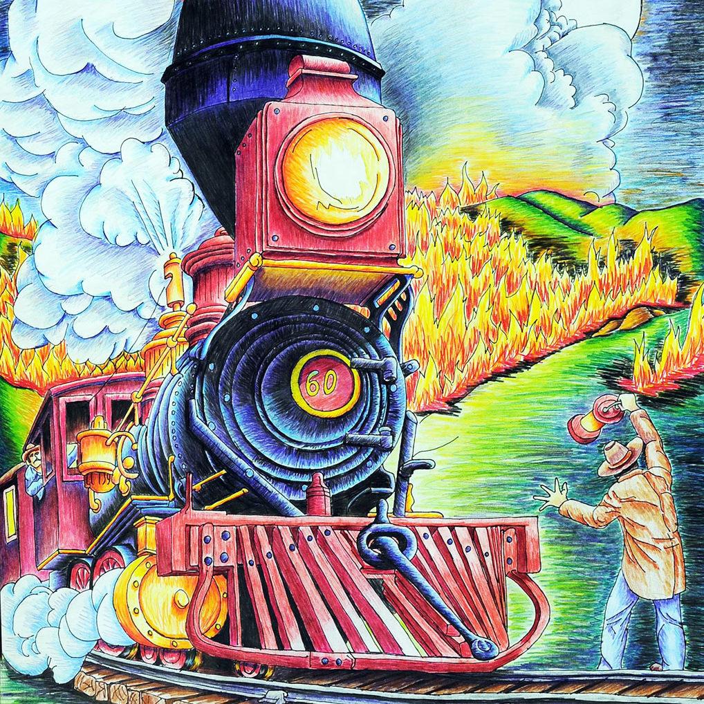 Stranger on the Tracks - 1893