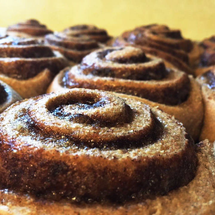 Jennifer Bauer's cinnamon rolls