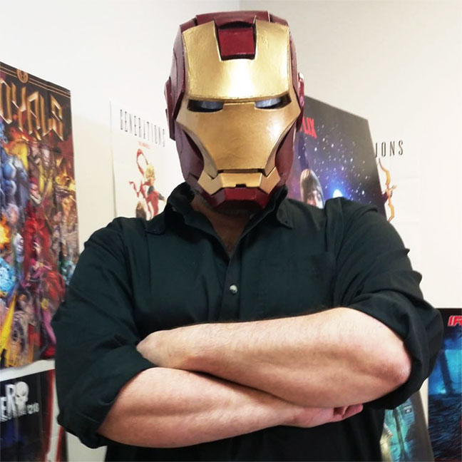 Josh Blaha Iron Man