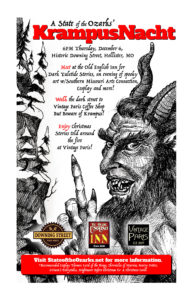 Ozarkian KrampusNacht @ Ye Old English Inn / Downing Street Pour House