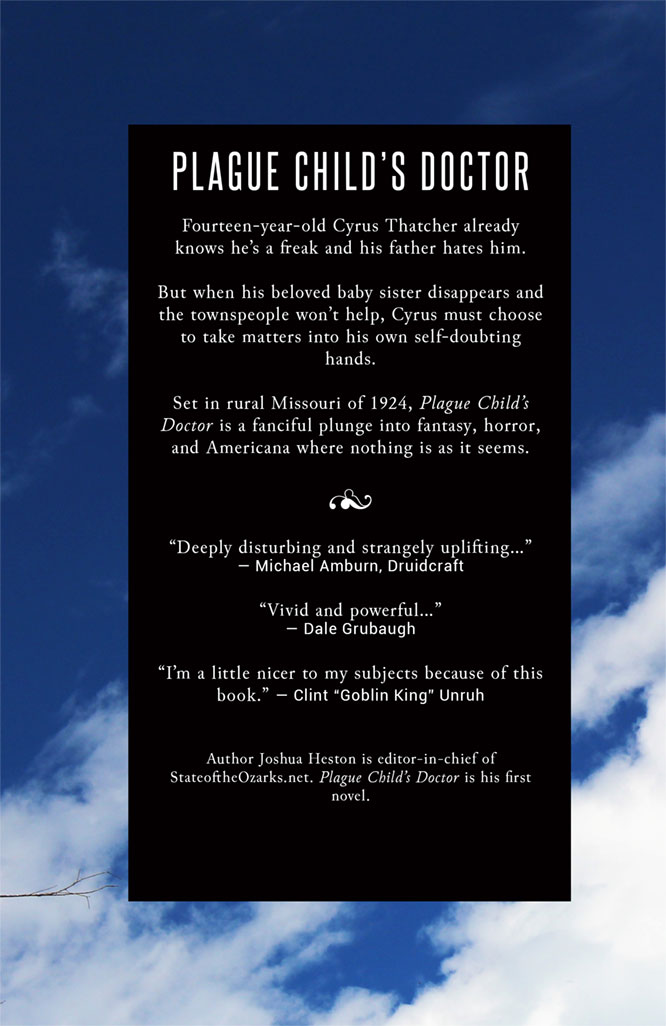 Plague Childs Doctor back cover