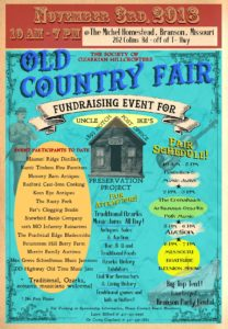Old Country Fair - Fundraiser for the Uncle Ike Post Office @ Michel Homestead