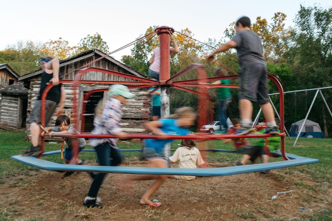 Bois d'Arc primitive skills camp
