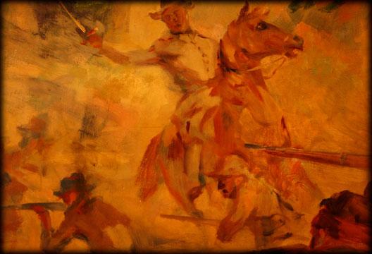George Kieffer Artwork Mural Fox Theatre Springfield Missouri