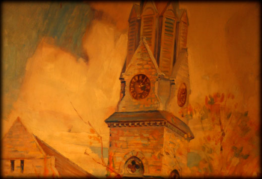 George Kieffer Artwork Mural Fox Theatre Springfield Missouri